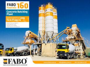 FABO POWERMIX-160 STATIONARY CONCRETE BATCHING PLANT planta de hormigón nueva